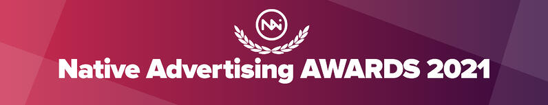Native Advertising AWARDS banner