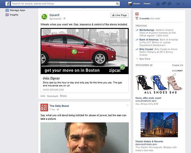 Facebook-native-vs-content