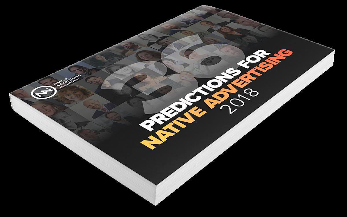 native advertising predictions 2018