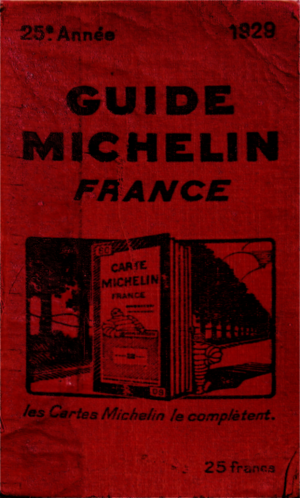 The original Michelin Guide