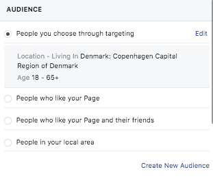How to target your audience for a Facebook sponsored post
