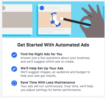 Facebook automated ad