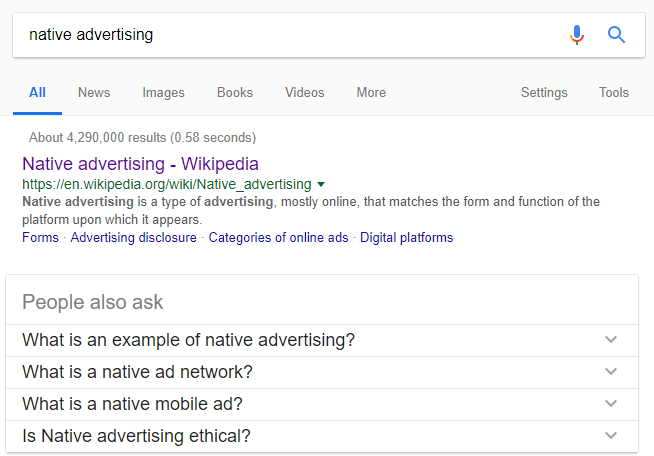 What The Top Related Searches On 'Native Advertising' Reveal About The Industry-Img8