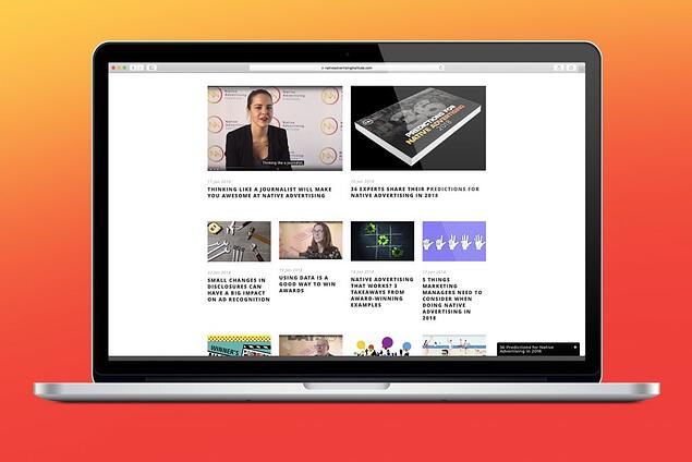 Native advertising institute - sign up for our newsletter