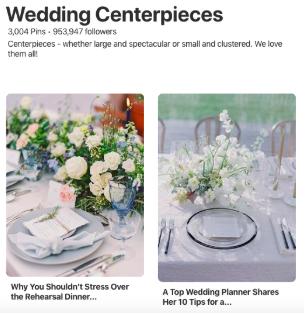 Pinterest ads example 1