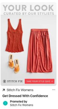 Pinterest ads example 2