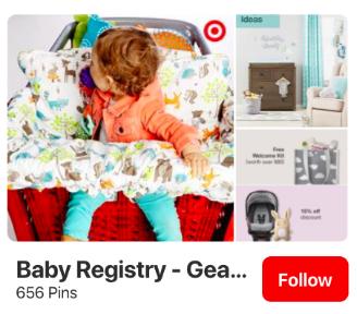 Pinterest ads example 3